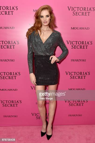 Alexinia Graham attends the 2017 Victoria's Secret Fashion Show In Shanghai After Party at MercedesBenz Arena on November 20 2017 in Shanghai China