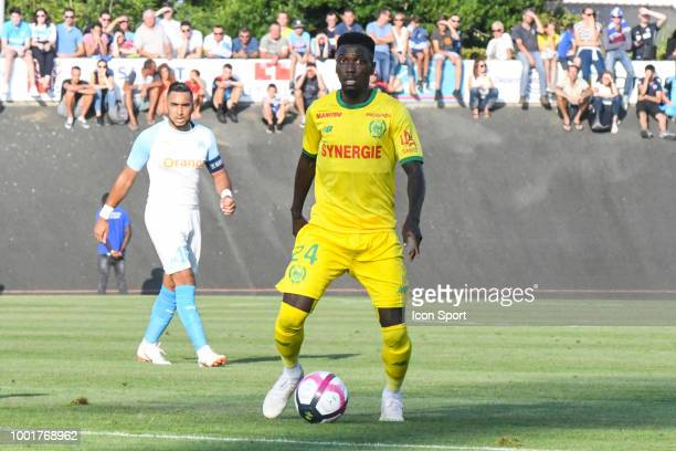 Alexis Alegue Elandi of Nantes during the Friendly match between Marseille and Nantes on July 18 2018 in La RochesurYon France of Marseille