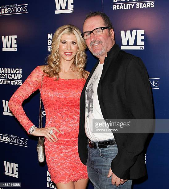 Alexis and Bellino Jim Bellino attend WE TV's 'Marriage Boot Camp' reality stars 'David Tutera's Celebrations' premiere party at 1 OAK on January 8...