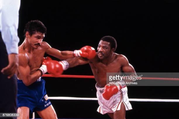 Alexis Argüello Aaron Pryor boxing at Caesars Palace September 9 1983