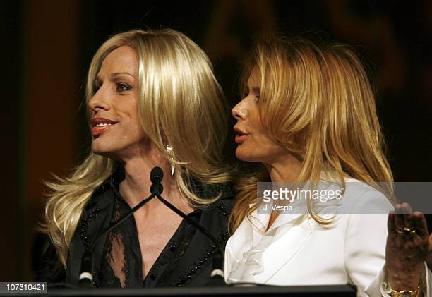 Alexis Arquette and Rosanna Arquette during AFI Honors Hollywood's Arquette Family With The Sixth Annual 'Platinum Circle Awards' Green Room and Show...