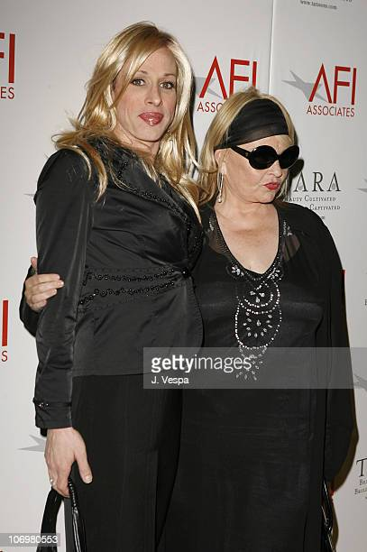 Alexis Arquette and Roseanne Barr during AFI Honors Hollywood's Arquette Family with the Sixth Annual Platinum Circle Awards Red Carpet in Los...