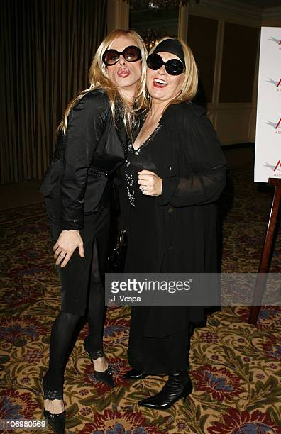 Alexis Arquette and Roseanne Barr during AFI Honors Hollywood's Arquette Family With The Sixth Annual Platinum Circle Awards Green Room and Show in...