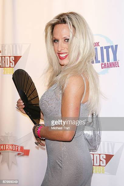 Alexis Arquette arrives at the FOX Reality Channel Really Awards held at Avalon Nightclub on September 24 2008 in Hollywood California