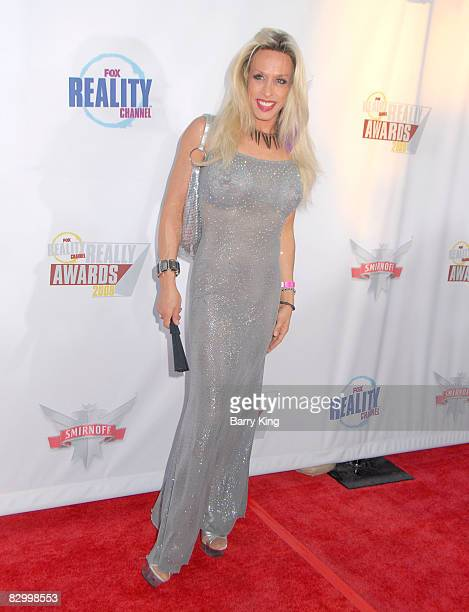 Alexis Arquette arrives at the Fox Reality Channel's Really Awards held at Avalon Hollywood on September 24 2008 in Hollywood California