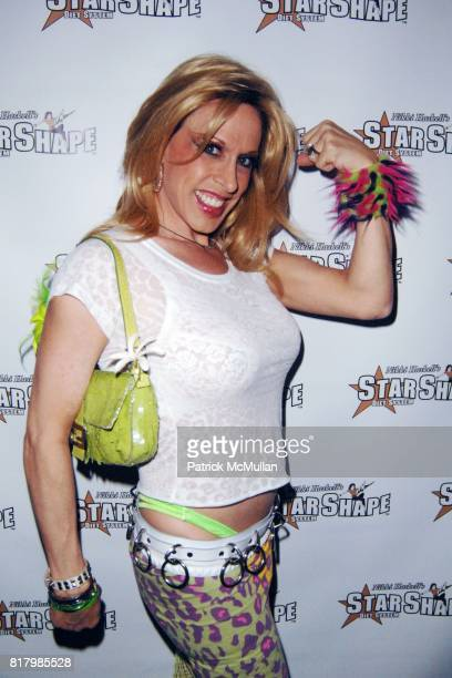 Alexis Arquette attend Jeffrey Sanker Hosts Launch Party for Nikki Haskell's New Starshape Billboard at Trousdale on September 30th 2010 in West...