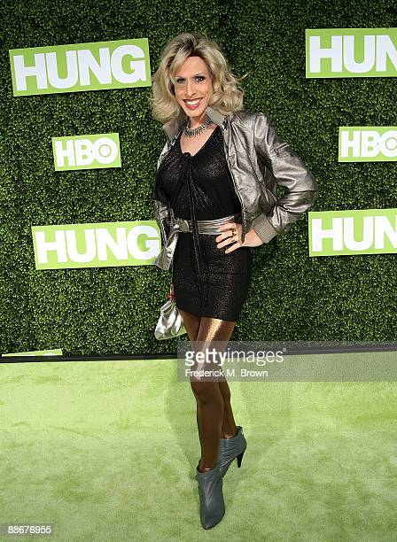 Alexis Arquette attends the 'Hung' film premiere at Paramount Theater on the Paramount Studios lot on June 24 2009 in Los Angeles California