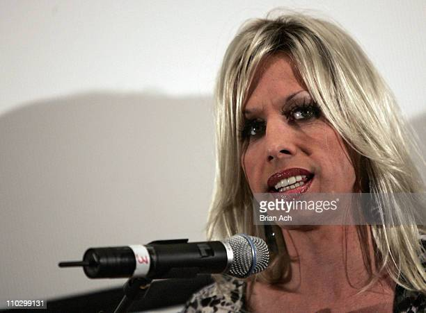 Alexis Arquette during 6th Annual Tribeca Film Festival 'Alexis Arquette She's My Brother' Press Conference with Alexis Arquette at Clearview Chelsea...