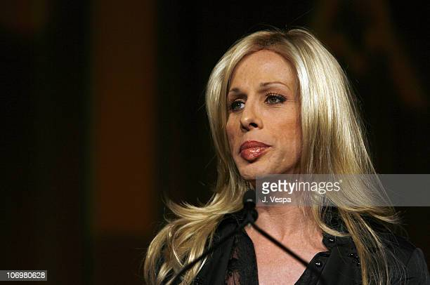 Alexis Arquette during AFI Honors Hollywood's Arquette Family With The Sixth Annual 'Platinum Circle Awards' Green Room and Show in Los Angeles...