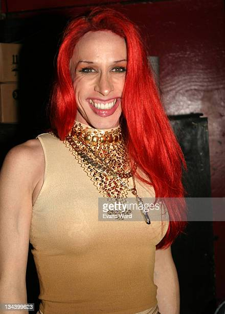 Alexis Arquette during Alexis Arquette at Dragonfly Club at Dragonfly in Hollywood California United States