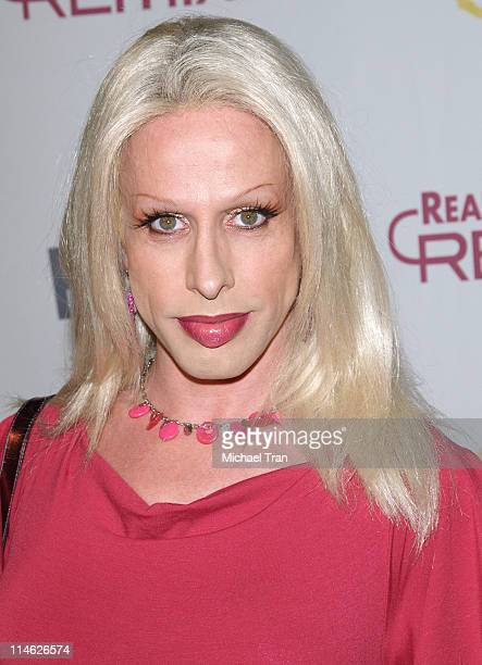Alexis Arquette during Fox Reality Presents 'The Reality Remix Really Awards' Arrivals at Les Deux in Hollywood California United States