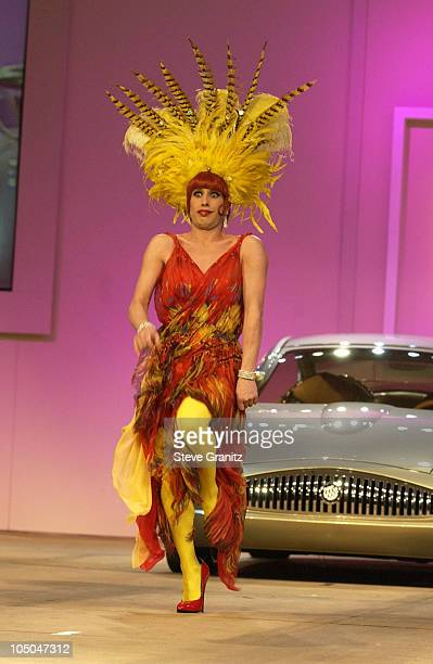 Alexis Arquette during GM Ten Celebrates 75 Years of Film with Celebrity Fashion Show in Hollywood California United States
