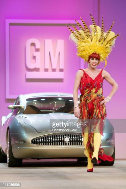 Alexis Arquette during GM Ten Celebrates 75 Years Of Film With Celebrity Fashion Show in Hollywood CA United States
