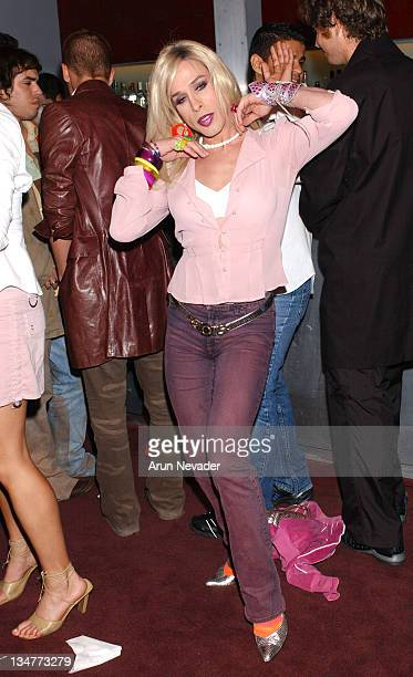 Alexis Arquette during Heatherette Fashion Show AfterParty at Cinespace at Cinespace in Hollywood California United States