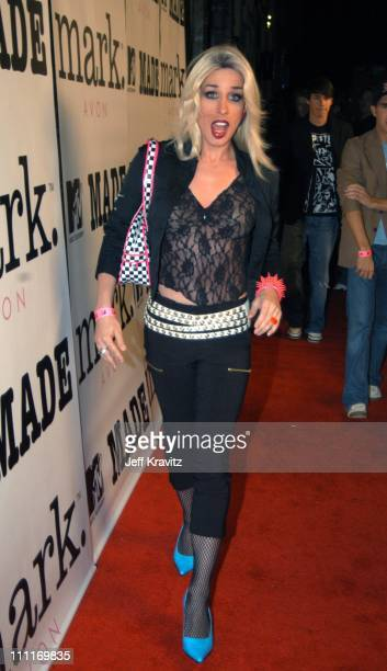 Alexis Arquette during Mark/Avon Joins Forces with MTV's Series 'Made' Arrivals and Party at Cinespace in Hollywood California United States