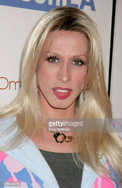 Alexis Arquette during OmniPeace Event Launch Party at Kitson in Los Angeles CA United States