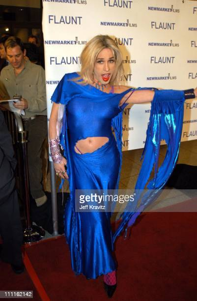 Alexis Arquette during Spun Premiere at Pacific Cinerama Dome Theater in Hollywood CA United States