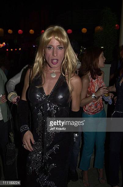 Alexis Arquette during Stuff Magazine Party in Chinatown at Chinatown in Los Angeles California United States