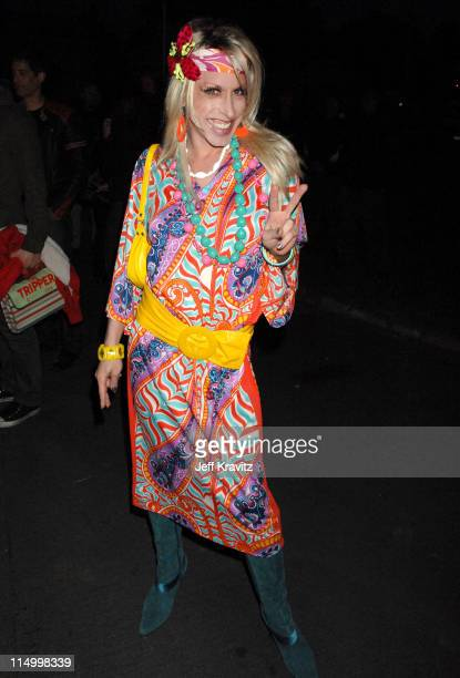 Alexis Arquette during 'The Tripper' Los Angeles Premiere Red Carpet at Hollywood Forever Cemetary in Hollywood California United States