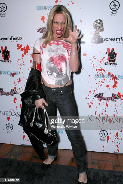 Alexis Arquette during 'The Tripper' Los Angeles Premiere Red Carpet and AfterParty at Mann's Chinese 6 in Hollywood California United States