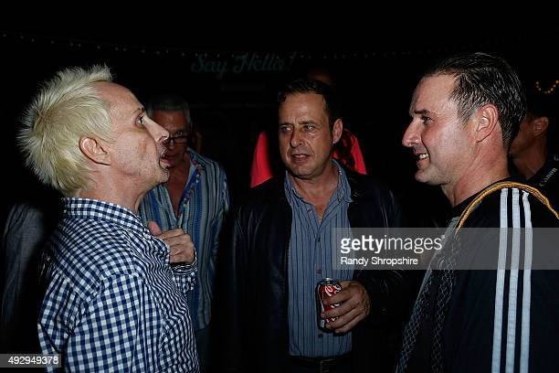 Alexis Arquette Richmond Arquette and David Arquette attend the after party for the opening night of Sir Arthur Conan Doyle's Sherlock Holmes at The...