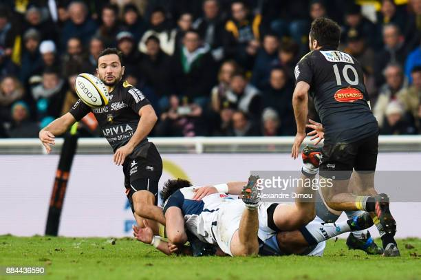 Alexis Bales of La Rochelle during the Top 14 match between La Rochelle and Montpellier on December 2 2017 in La Rochelle France