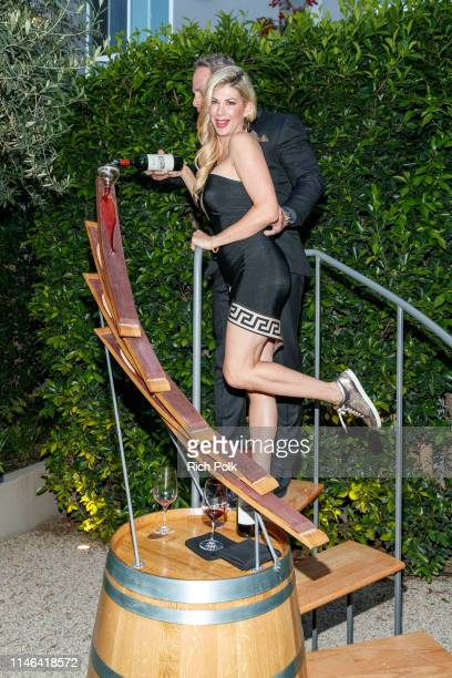 Alexis Bellino and Andy Bohn attend the 2015 Jordan Cabernet Release Day Party on May 01 2019 in Los Angeles California