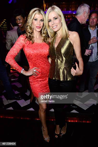 Alexis Bellino and Aviva Drescher attend WE tv's joint premiere party for 'Marriage Boot Camp Reality Stars' and 'David Tutera's CELEBrations' at 1...