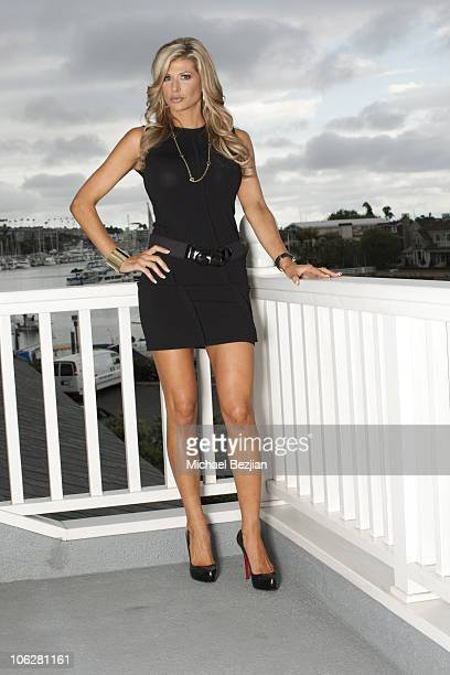 Alexis Bellino attends Dr Michael Niccole and Real Housewives of Orange County Star Alexis Bellino Viewing Party on October 27 2010 in Los Angeles...