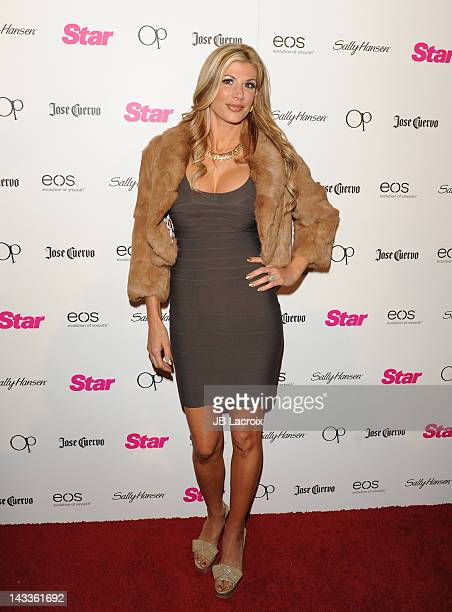 Alexis Bellino attends the Star Magazine's 'All Hollywood' Event With Performance By Karmin held at AV Nightclub on April 24 2012 in Hollywood...