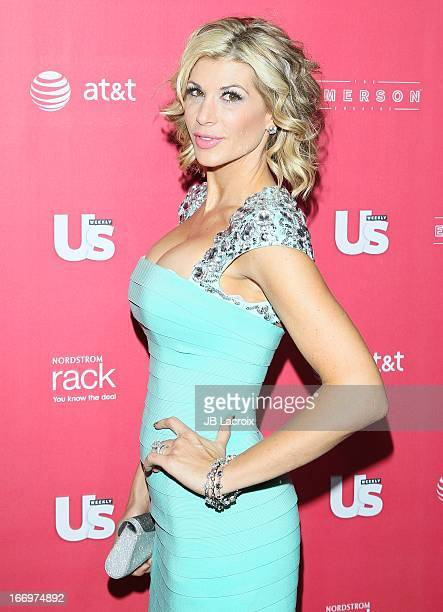 Alexis Bellino attends the Us Weekly's Annual Hot Hollywood Style Issue Party at The Emerson Theatre on April 18 2013 in Hollywood California