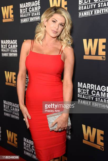 Alexis Bellino attends WE tv Celebrates the 100th Episode of the Marriage Boot Camp reality stars franchise and the premiere of Marriage Boot Camp...