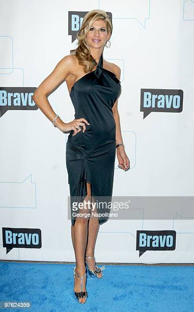 Alexis Bellino from the Real Housewives of OC attend Bravo's 2010 Upfront Party>> at Skylight Studio on March 10 2010 in New York City