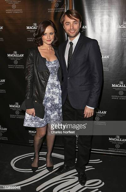 Alexis Biedel and Vincent Kartheiser attend The Macallan Masters Of Photography Series at The Bowery Hotel on October 10 2012 in New York City