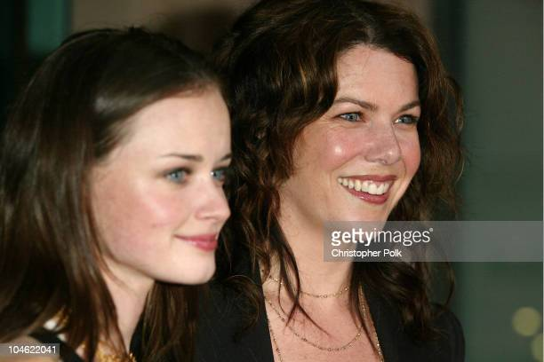 Alexis Bledel and Lauren Graham during ACADEMY OF TELEVISION ARTS SCIENCES presents Behind the Scenes of Gilmore Girls at Leonard H Goldenson Theatre...