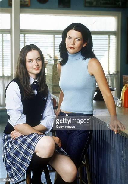 Alexis Bledel and Lauren Graham star in Warner Bros TV series The Gilmore Girls