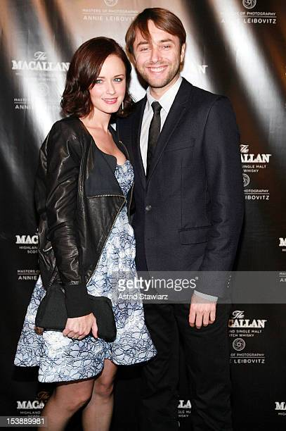 Alexis Bledel and Vincent Kartheiser attend The Macallan Masters Of Photography Series at The Bowery Hotel on October 10, 2012 in New York City.