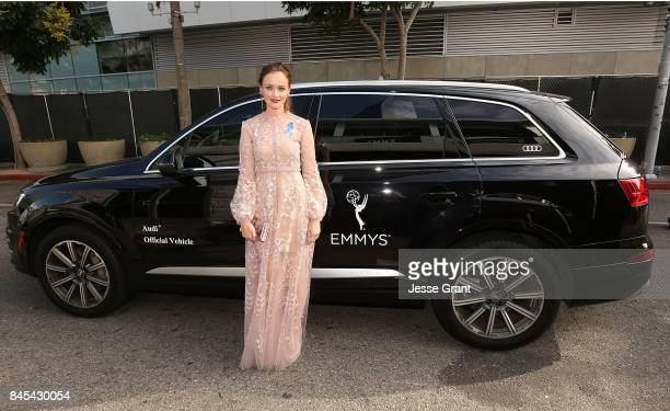 Alexis Bledel arrives to The 69th Primetime Creative Arts Emmy Awards celebrated by Audi on September 10 2017 in Los Angeles California