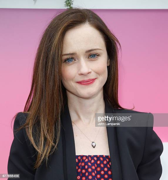Alexis Bledel attends 2017 Hulu Upfront on May 3 2017 in New York City