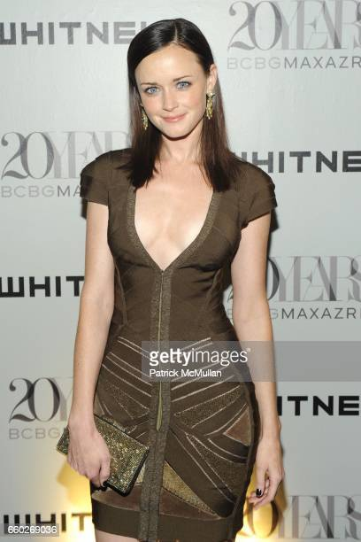 Alexis Bledel attends The 2009 WHITNEY ART PARTY presented by BCBG and MAX AZRIA at Skylight on June 17 2009 in New York City