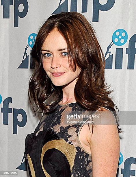 Alexis Bledel attends the 2010 Independent Filmmaker Project spring gala at The DVF Studio on May 5 2010 in New York City