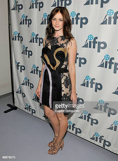Alexis Bledel attends the 2010 Independent Filmmaker Project spring gala at The DVF Studio on May 5, 2010 in New York City.