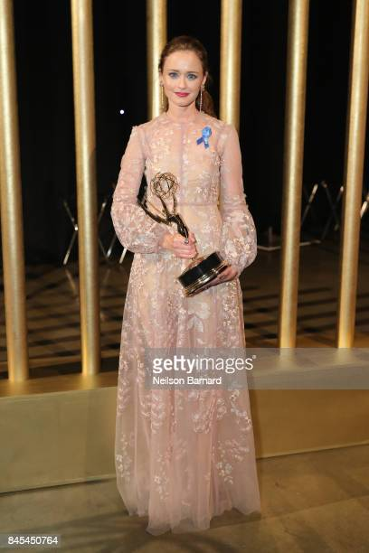 Alexis Bledel attends the 2017 Creative Arts Emmy Awards Creative Arts Ball on September 10 2017 in Los Angeles California