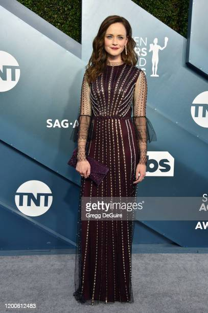 Alexis Bledel attends the 26th Annual Screen Actors Guild Awards at The Shrine Auditorium on January 19 2020 in Los Angeles California 721430