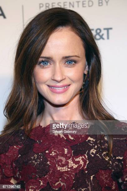 Alexis Bledel attends 'The Handmaid's Tale' Premiere 2017 Tribeca Film Festival at BMCC Tribeca PAC on April 21 2017 in New York City