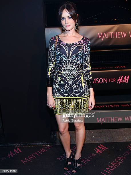 Alexis Bledel attends the launch of Matthew Williamson for HM Spring 2009 collection at The Majesty on April 28 2009 in New York City