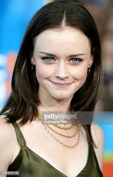 Alexis Bledel during 2003 Teen Choice Awards Arrivals at Universal AmphiTheater in Universal City California United States