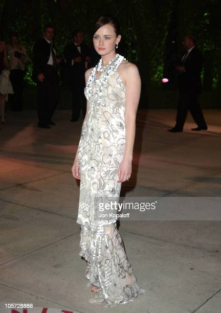 Alexis Bledel during 2005 Vanity Fair Oscar Party at Mortons in Los Angeles California United States