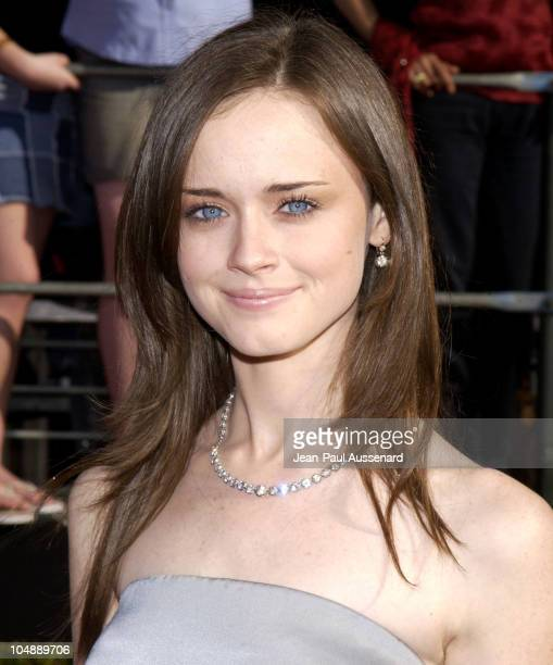 Alexis Bledel during 9th Annual Screen Actors Guild Awards Arrivals at Shrine Exposition Center in Los Angeles California United States