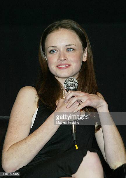 """Alexis Bledel during ACADEMY OF TELEVISION ARTS & SCIENCES presents Behind the Scenes of """"Gilmore Girls"""" at Leonard H. Goldenson Theatre in North..."""